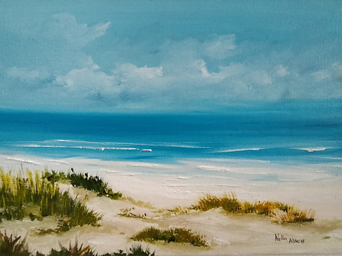 Dunes, oil on canvas original painting