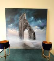 painting in real situ