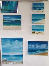 pinturas em estúdio