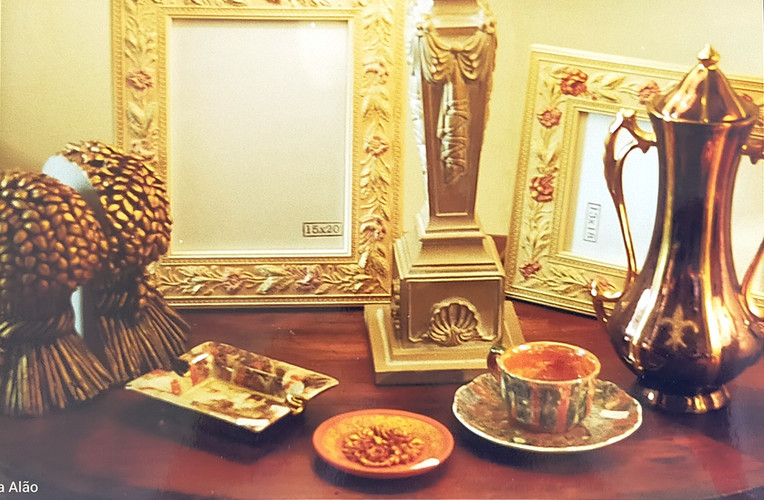 beautiful and unique pieces of decor by Nella Alao