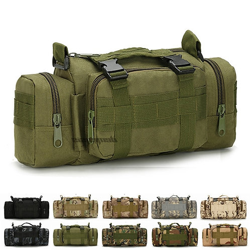 Military Army Tactical Shoulder Bags Camping Hiking Camouflage Bag Outdoor