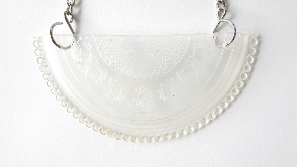 Clear Plastic Necklace