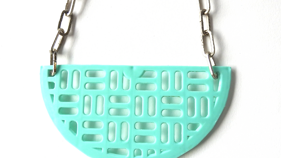 Minty Green Necklace
