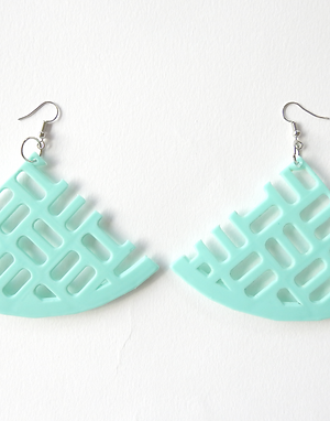 Minty Green Earrings