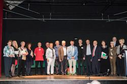 Le jury et les lauréat.e.s