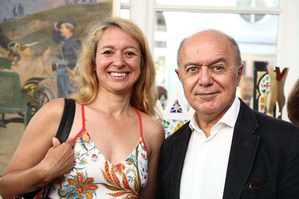 Alexandra Pasquer et Pierre Assouline