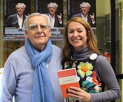 Bernard Pivot et Alexandra Pasquer Salon du livre de Boulogne