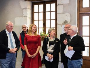 Alexandra Pasquer invitée d'honneur du salon du livre d'Onzain le 7 octobre 2018