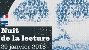 Nuit de la lecture 2018 au Circonflexe !