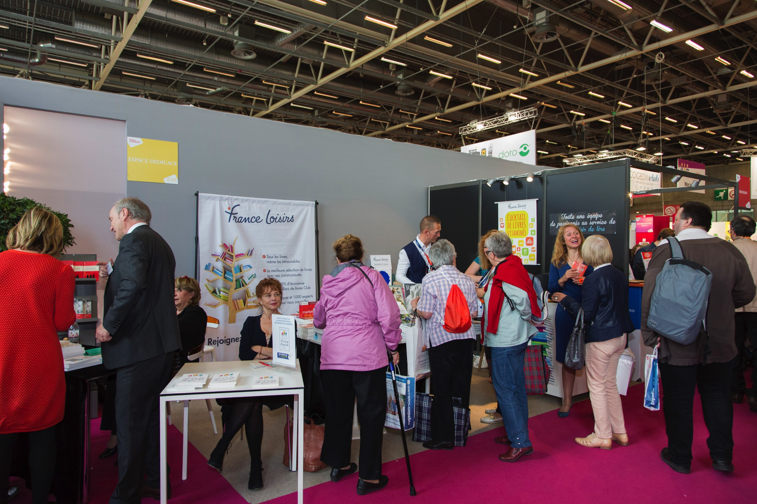 France Loisirs au Salon des Seniors