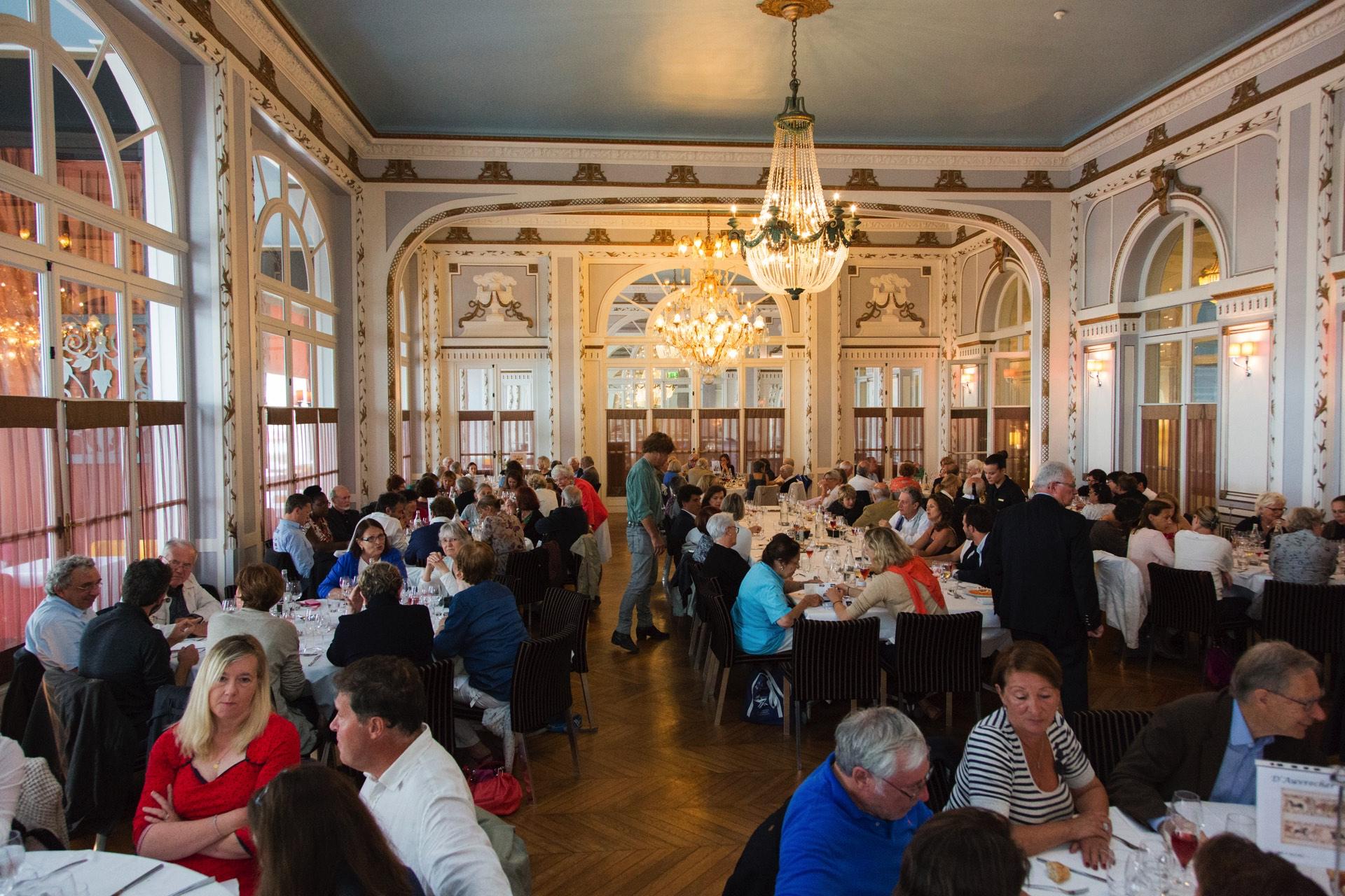 Déjeuner au Grand Hôtel