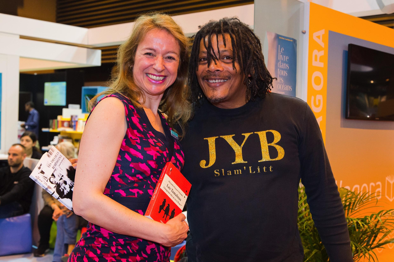Avec JYB sur le stand Outre-Mer
