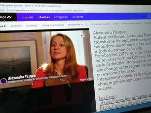 Sur France 2, Sophie Davant recevait Alexandra Pasquer et ses Chicoufs !