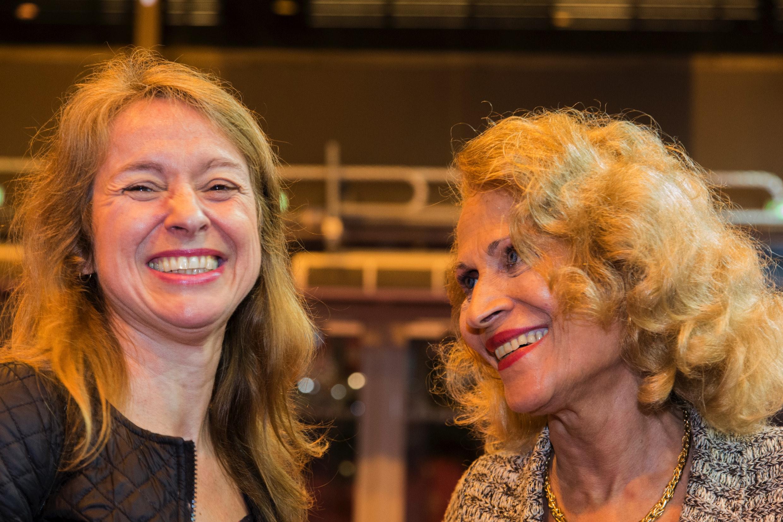 Avec Suzanne Dracius...