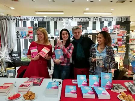 Alexandra Pasquer, Sonia Dagotor et Loly P-K dédicaçaient leurs romans à Saint-Germain les Corbeil le 2 décembre. De la lecture pour toutes les générations !