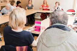 Café littéraire avec la maire Florence Berthout !