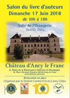 Salon du livre d'Ancy le Franc