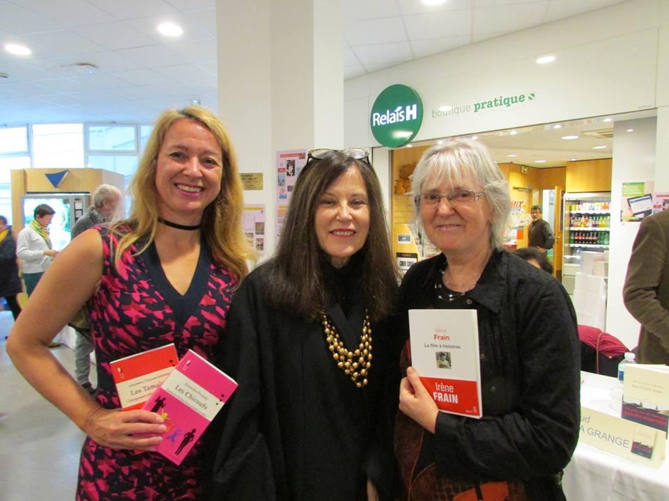 Avec Irene Frain et Chesca