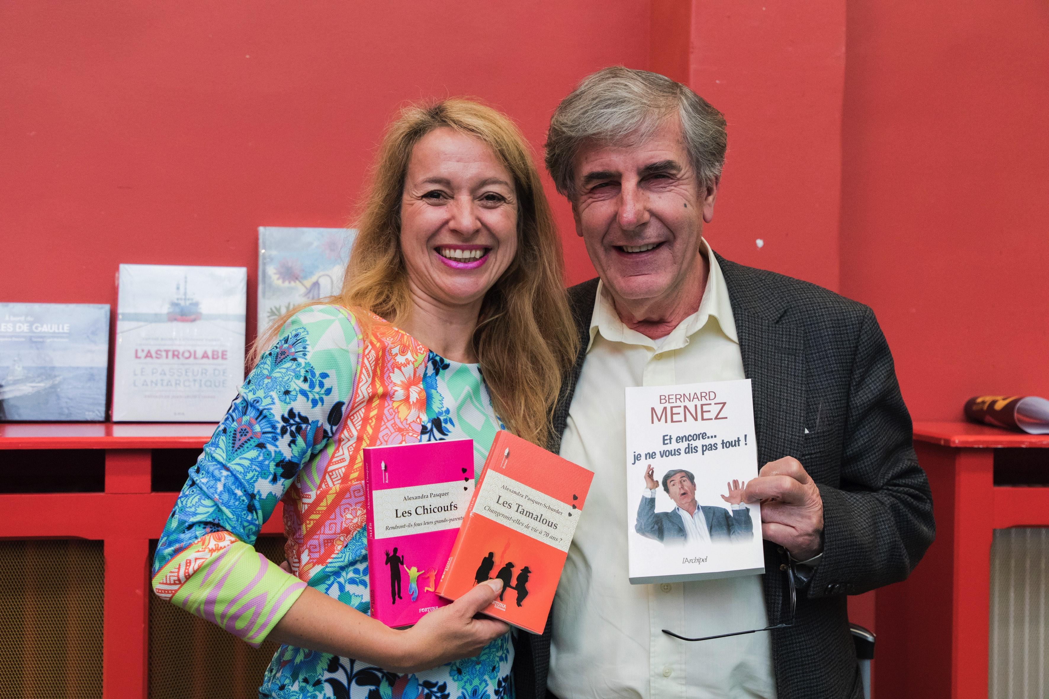 Bernard Menez et Alexandra Pasquer