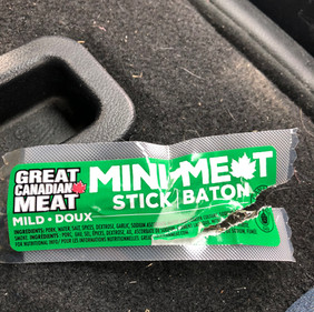 Best swag ever ... room temperature meat!