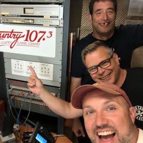 Hanging with Randy in Tillsonburg!