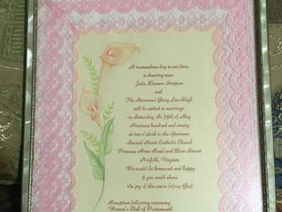 Handmade Wedding Gifts