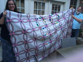Stitching Wedding Heirlooms