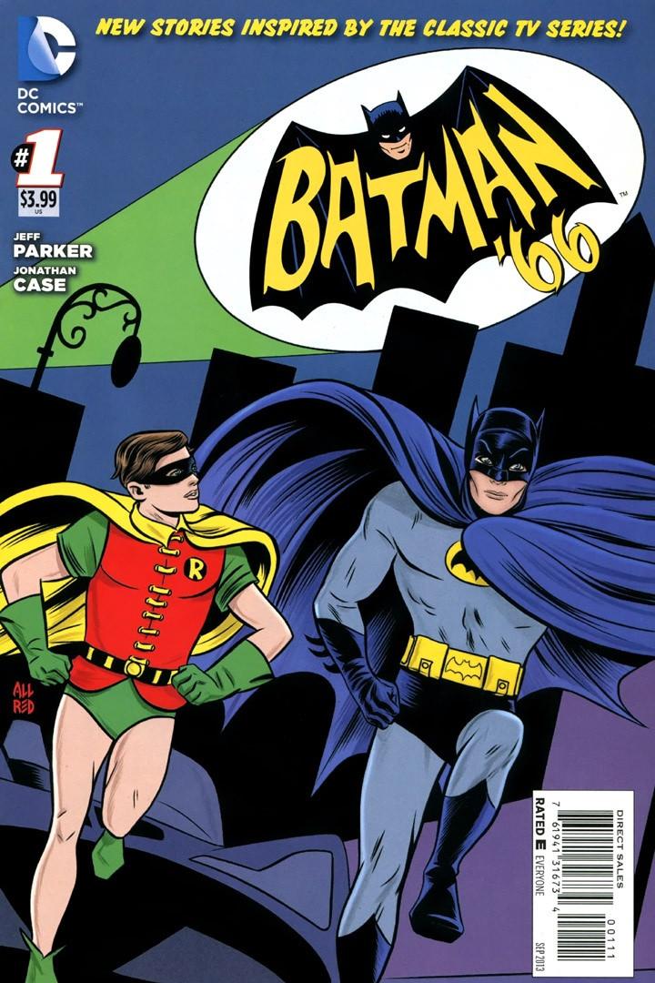 Batman 66 #1 art by Michael Allred