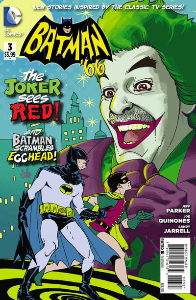 Batman 66 #3 Variant Cover