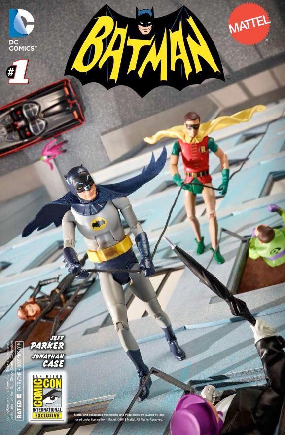 Batman 66 #1 Mattel Variant
