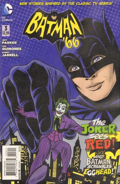 Batman 66 #3 Cover