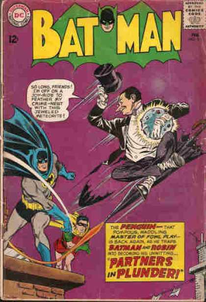 Cover of Batman 169, 1965