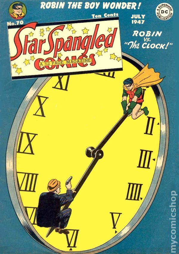 Clock King Vs. Robin