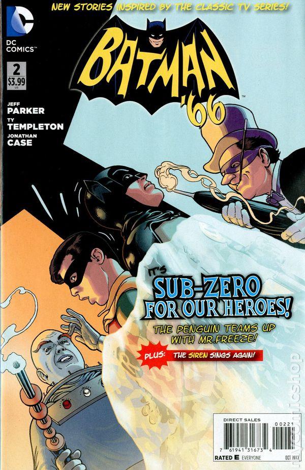 Batman 66 #2 Variant art by Kevin McGuire