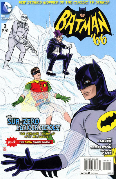 Batman 66 #2 art by Michael Allred