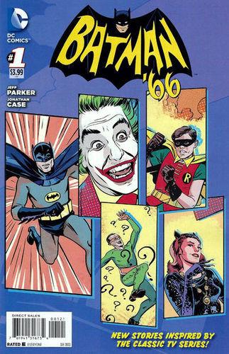 Batman 66 #1 Variant art by Joanthan Case
