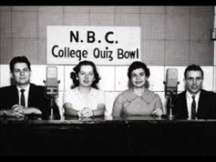 COLLEGE QUIZ BOWL & OUR MISS BROOKS