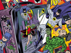 The Batcave Podcast: From the Files of the Batcomputer #20 - BATMAN 66 Cover Artist Michael Allred