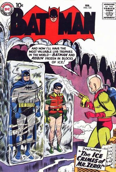 Cover of Batman 121
