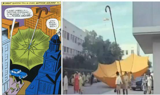 Umbrella of a Different Color