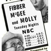 SUSPENSE & FIBBER McGEE AND MOLLY