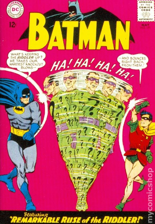Cover to Batman 171, 1965