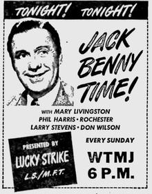 LIGHTS OUT & THE JACK BENNY PROGRAM