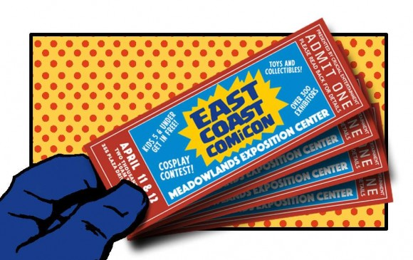 Tickets to East Coast Comic Con