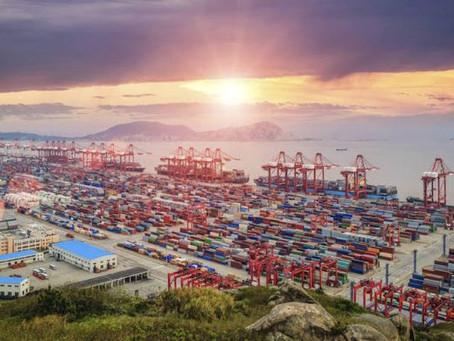 Repuntan los fletes de contenedores desde Shanghai