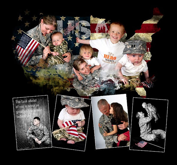 Military Family Portraits Rochester MN