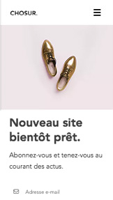 Landing Pages website templates – Boutique en ligne bientôt
