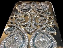 Gold and Diamond iPhone 6s case, Tesori