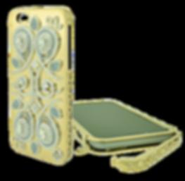 Tesori Diamond and Gold iPhone Case