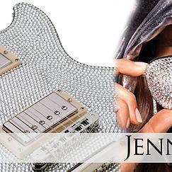 Crystal Guitar for Jennifer Lopez